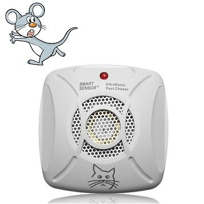 220V Ultrasonic Pest Chaser Electronic Rat Mouse Insect Rodent Pest Repeller
