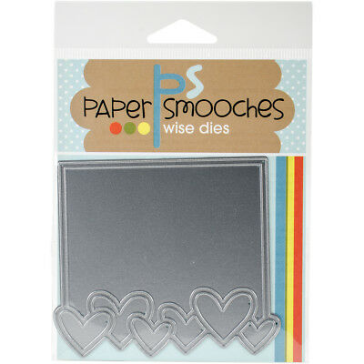 Paper Smooches Die Heart Frame SED344