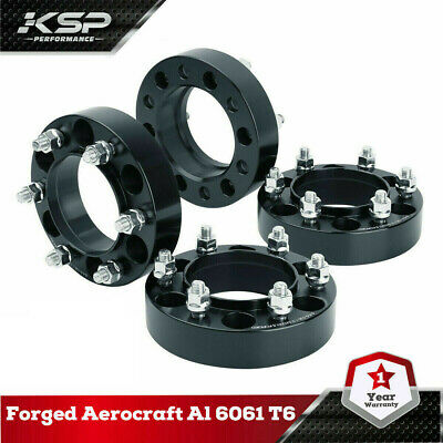 "KSP 1.5"" Wheel Spacers 6x5.5 (139.7mm) 12x1.5 106mm Hubcentric Tacoma 4 Runner"