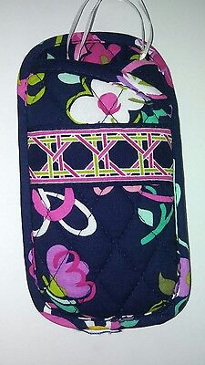 Nwt Vera Bradley Double eye Eyeglasses case in Ribbons
