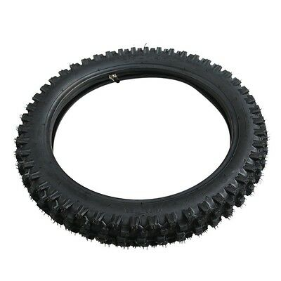 "2.50-14 60/100- 14"" Inch Front Knobby Tyre Tire +Tube PIT PRO Trail Dirt Bike"