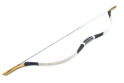 CHINESE HANDMADE TRADITIONAL Han Bow Snakeskin Recurve bow 20-100Lbs Archery