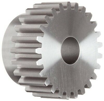 """Boston Gear NF25 Spur Gear, 14.5 Pressure Angle, Steel, Inch, 10 Pitch, 0.750"""""""