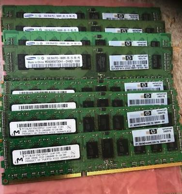 HP 16GB (8X2GB) 1333MHZ PC3-10600R CL9 ECC REGISTERED DDR3 SDRAM HP Certified