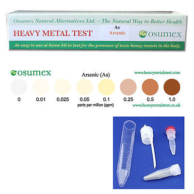 Arsenic Water Test Quick Test Kit for Arsenic 0-1ppm (As)