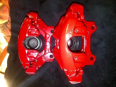 VW/AUDI/ 312 calipers and carriers MK4 GOLF TT S3 RED