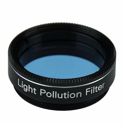 """1.25"""" Telescope Light Pollution Filter Improve Visibility Of Deep Sky Bright New"""