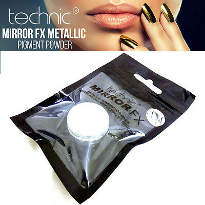 Technic Mirror FX Metallic Pigment Poudre for Ongles Asteroid MakeUP - Silver