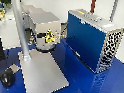 20W Potable  Fiber Laser Making  Engraver Maker 220V and 110x110 mm area CE FDA