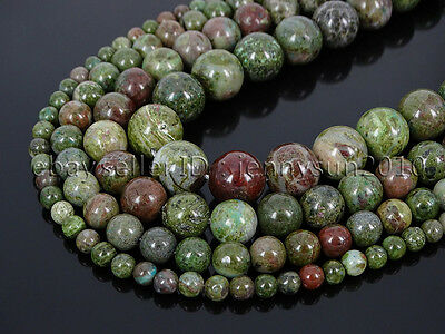 Natural Cuprite Jasper Gemstone Round Loose Spacer Beads 15'' 4mm 6mm 8mm 10mm