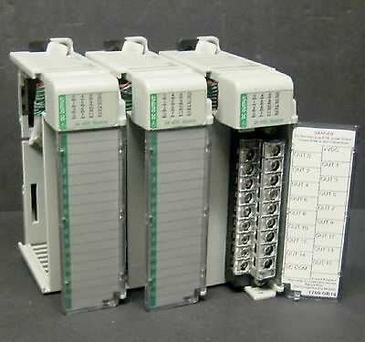 Allen Bradley 1769-OB16 1769-0B16 MicroLogix Compact I/O Output Module 16 Point