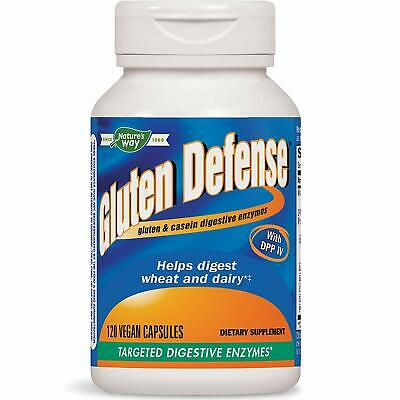 Gluten Specific Digestive Enzymes 120 Veggie Capsules | Bloating IBS Relief