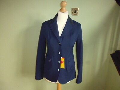 Animo Ladies Softshell Competition Show Jacket navy blue I 44 UK 12