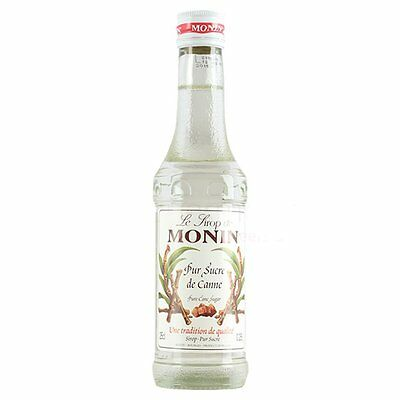 MONIN Coffee Syrup PURE CANE 25 CL - ideal size for trying this great flavour!