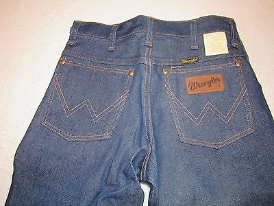 Nwt Vintage Wrangler Straight Leg Denim Jeans Size 26X34 Junior 5/6 New With Tag