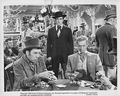 """3 original 8""""x10"""" MISSISSIPPI GAMBLER 1955 TYRONE POWER - PIPER LAURIE"""