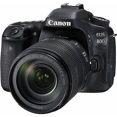 Canon EOS 80D DSLR + EF-S 18-135mm f/3.5-5.6 IS STM lens *BRAND NEW*