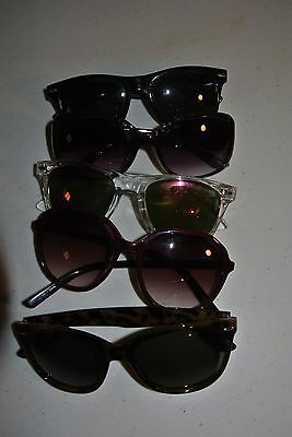 Assorted Lot Of Used Sunglasses (5) Pairs