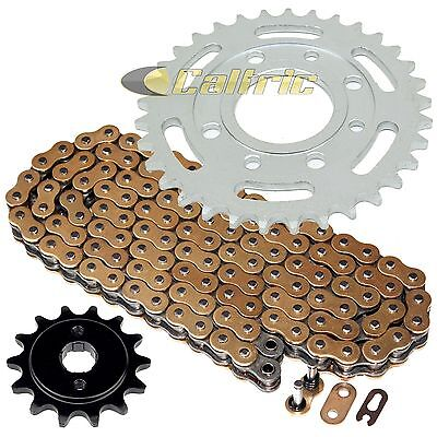 Gold O-Ring Drive Chain & Sprockets Kit Fits HONDA CB250 Nighthawk 250 1991-2008