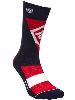 100 Percent Red Torque Kids MX Socks