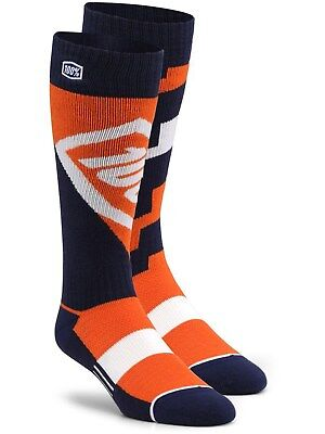 100 Percent Orange Torque MX Socks