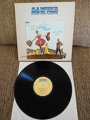"Sonrisas Y Lagrimas The Sound Of Music Soundtrack Lp Vinilo Vinyl 12"" 1982 Vg/vg"