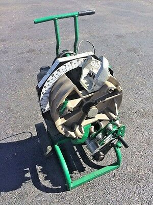 """Greenlee 555DX Deluxe Electrical Conduit Pipe Bender 1/2"""" to 2"""" EMT RIDGID 855"""