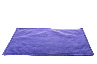 WATERPROOF Guinea Pig and small animal fleece cage liner purple 120x59cm
