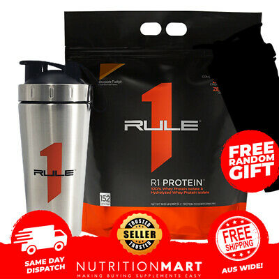 RULE 1 PROTEIN R1 PROTEIN ISOLATE 4.5kg 152 serves WPI  - VIRTUALY LACTOSE FREE