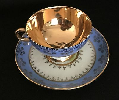 Vintage Johann Haviland tea cup with Gloria Fine Porcelain overmark.