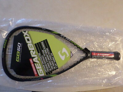 GEARBOX GB 50 RACQUETBALL RACQUET 190 g. 1 Yr warranty Authorized