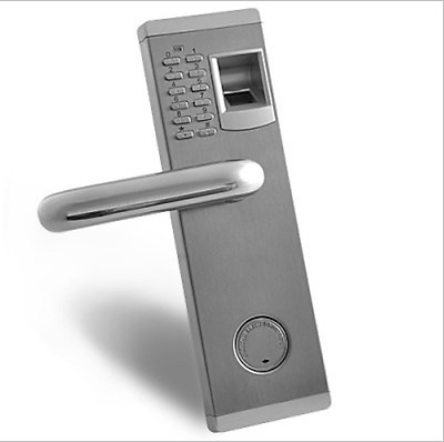 "Premium Biometric Fingerprint Door Lock with Deadbolt ""Aegis"""