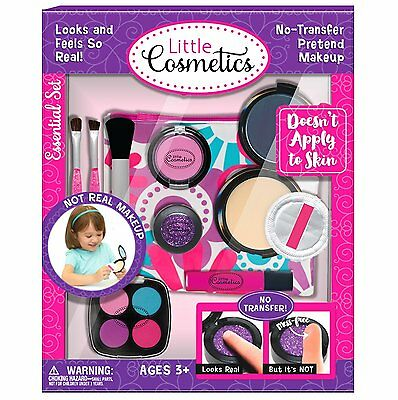 Makeup Essential Set Little Cosmetics Pretend Play Toys For Kids Ages 3 and Up