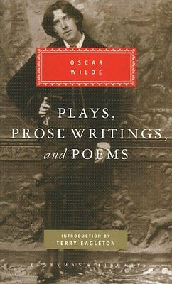 Plays, Prose Writings and Poems (Everyman's library) New Hardcover Book Oscar Wi