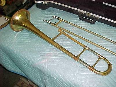 Vintage Getzen Tone Balanced Super Deluxe Trombone in Good Playing Condition.