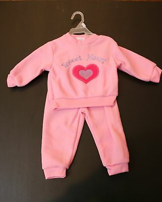 Baby Sweater and Matching Pant Outfit -- 12 Months -- SWEET HEART ****NO RESERVE