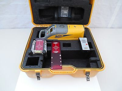 Trimble Spectra Precision DG511 DG 511 Pipe Laser With Remote 711 Clean # 5