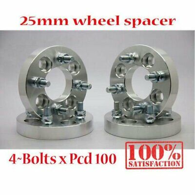 News (4) 25MM WHEEL ADAPTER SPACER 4x100 MAZDA MIATA MX-5 PROTEGE SPACER 12X1.5