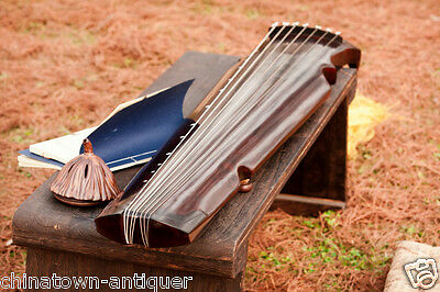 """48"""" Professional Guqin Chinese 7-stringed zither instrument Xiao Feng STL #4081"""