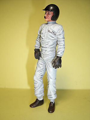 Figurine  Ken  Miles  1/18   Vroom  A  Peindre  Unpainted   No  Spark