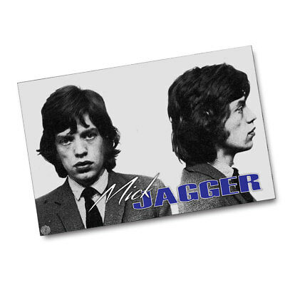 The Rolling Stones A Young Mick Jagger Wanted Poster 11x17 Posters