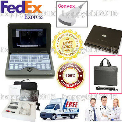 CONTEC Digital Portable Laptop Ultrasound Scanner/System+3.5M Convex Probe