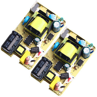 2Pcs AC-DC 5V Switching Power Supply Module 3A 2500MA 3000MA For Replace Repair