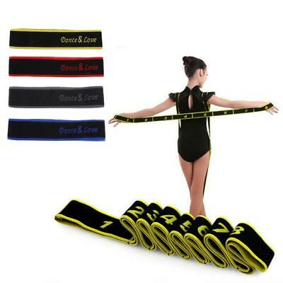 Latin Dance Pose Corrector Strap Yoga Elastic Band 8 Loops for Kids Children