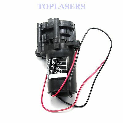 24V DC Mini Plastic Gear Pump Self-priming Hot Water Pumps ZC-A250 0-100℃