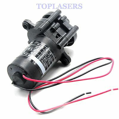 12V DC Mini Plastic Gear Pump Self-Sucking Hot Water Pumps ZC-A250 0-100℃