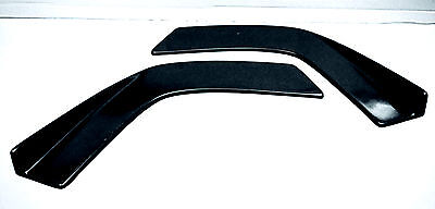 Front bumper/side skirts side canards drift, race, universal, chaser, s13, s14