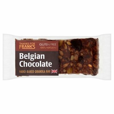 Thanks for Franks Belgium Chocolate Gluten Free Bar 55g