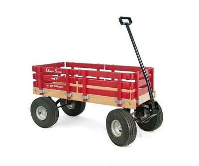 All Terrain Sports Wagon Berlin Flyer Cart Yard Garden Wagon Utility Lawn Dump