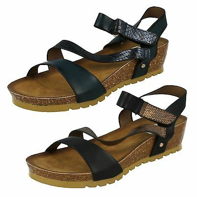 Ladies F1R0325 Flat Sandals By Down To Earth SALE NOW £5.99